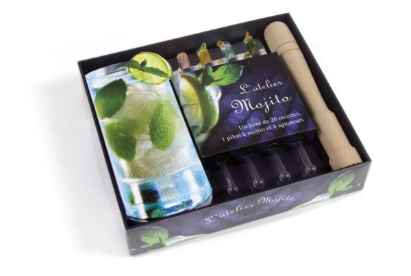 Mojito Set On-Pack Co-Pack Druck Print Verpackung Schachtel Karton Packaging Box Starlite Veredelung Finish UV-Lack Colour 4c