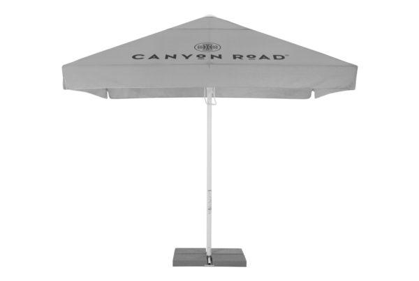 Canyon Road Parasol SunShade Sonnenschirm Wine Marketing IFG Promotion Merchandise Gift Gastronomy Gastronomie Werbun Advertising